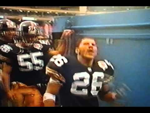 """Pittsburgh Steelers Rod Woodson"" ""We Own The Division Baby!"""