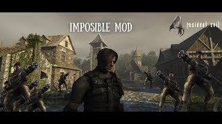 Resident Evil 4 Imposible Mod - Ep 2 - Miniguns