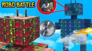 *NEU* XXL ROBOTER BATTLE in Fortnite Battle Royale !