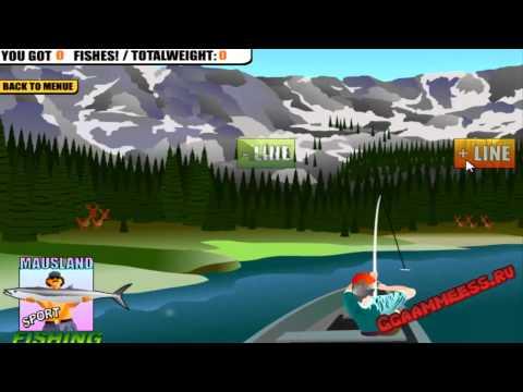 Игры для мальчиков Рыбалка на Лодке