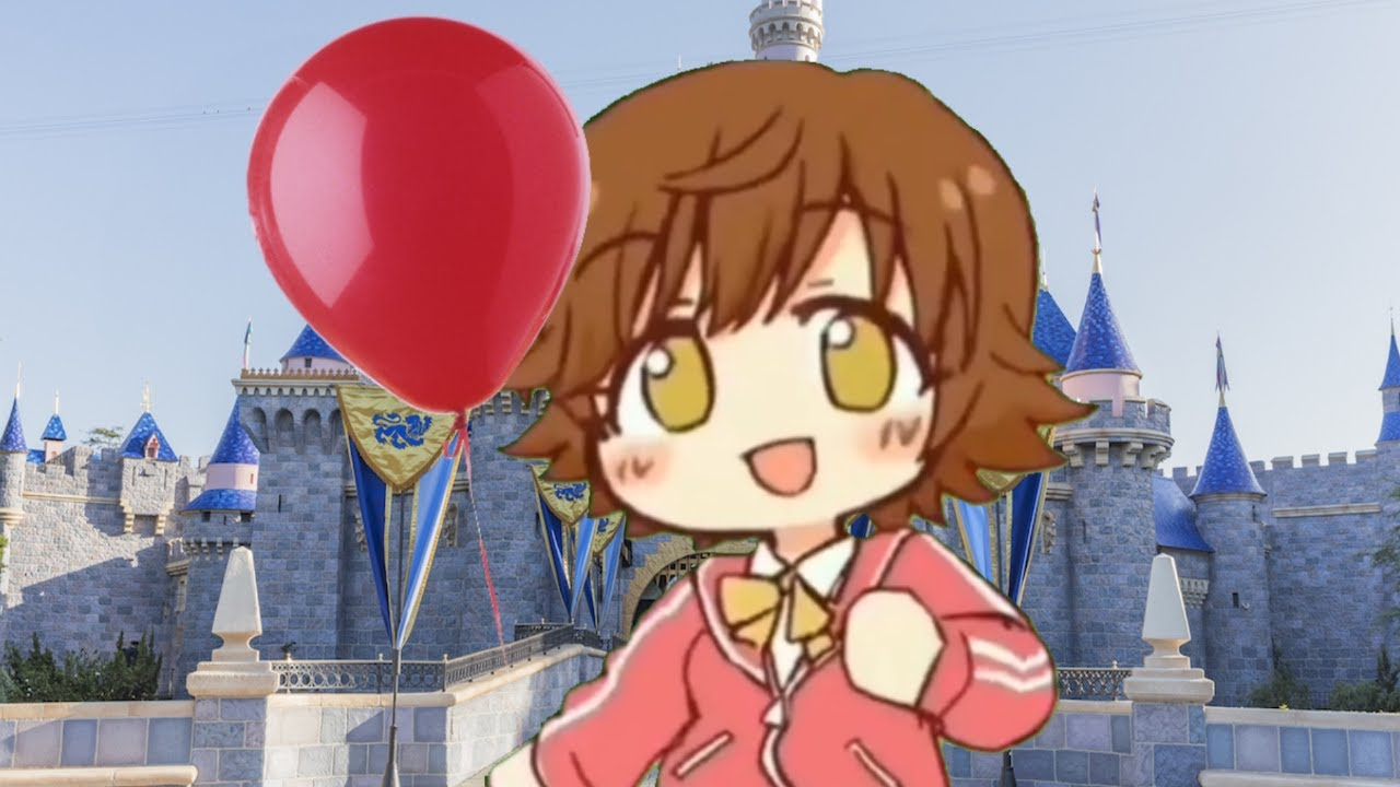 Mio Honda Loses Her Balloon at Disneyland and Tries to Get it Back