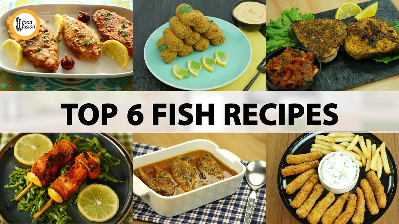 Top 6 fish recipes by food fusion youtube - Cuisine r evolution recipes ...