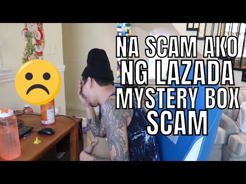 MYSTERY BOX SCAM FROM LAZADA