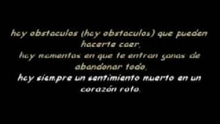 Hay siempre un sentimiento muerto en un corazón roto - Porta ( Letra karaoke )