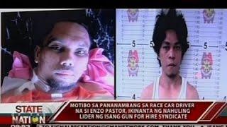 Lider umano ng gun for hire, nagsalita kaugnay sa pananambang kay Enzo Pastor