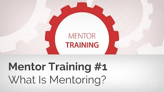 Mentor Training 1: What Is Biblical Mentoring (and Who Should Do It)?