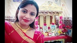 This is how we celebrate Lakshmi Puja | Bengali Lakshmi Puja Rituals | Glam With Me