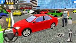 Multi Level Car Parking Games #3 - Let's Park Sedan! Android gameplay