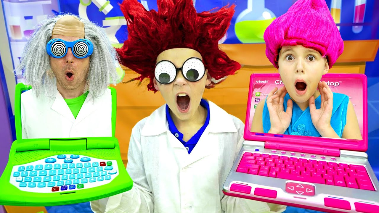Five Kids DIY Science Experiments + more Children's Songs and Videos