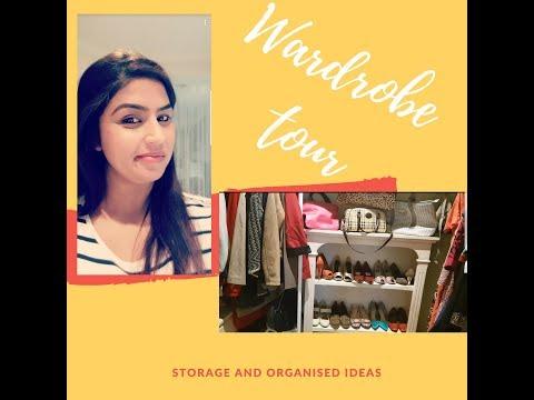 wardrobe organisation ideas 2018   Storage ideas   DreamersReality with Kaur  