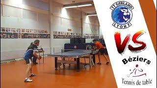 LYON 7 GERLAND TT vs BEZIERS TT | NATIONALE 3 | TENNIS DE TABLE | HIGHLIGHTS
