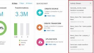 Big Data Preparation Cloud Service: Product Tour video thumbnail