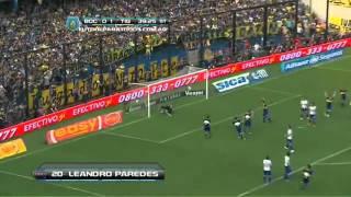 Gol de Paredes Boca 1   Tigre 1 Fecha 15 Torneo Inicial 2013