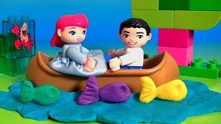 Lego Duplo Princess Ariel Magical Boat Ride 10516 Disney Princesses El Barco Mágico De Ariel Y Eric