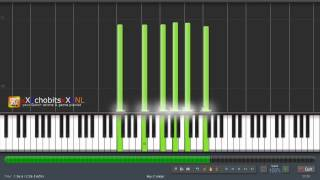 Amagami ss+ - after the shower - synthesia tutorial - piano solo - HD