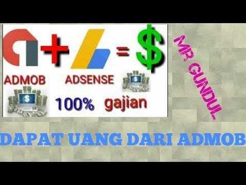 Cara mendapatkan uang dari admob