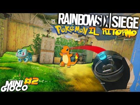 POKEMON GO IL RITORNO MINI GIOCO | RAINBOW SIX SIEGE thumbnail