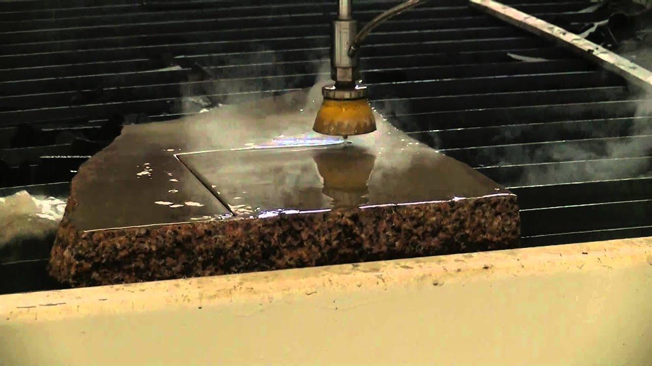 50mm Marble Granite Stone Water Jet Cnc Cutting Machine