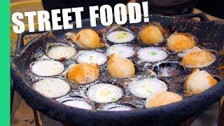 Download Cambodian Street Food in a Local Market (Noum Krouk)