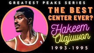 Hakeem Olajuwon's absurd post moves were only his 2nd-best skill | Greatest Peaks Ep. 8