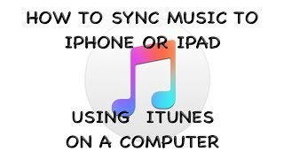 Tutorial - How to Sync Music Using iTunes 12 with an iPhone or iPad thumbnail
