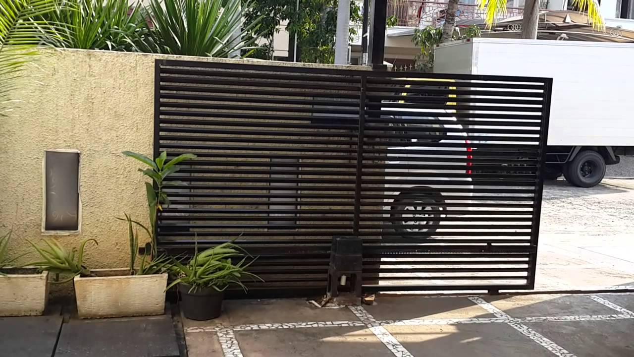 Automatic door Jakarta Indonesia, Pintu Otomatis pagar ...