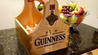 Make A 12 Pack Beer Tote On The Shopbot