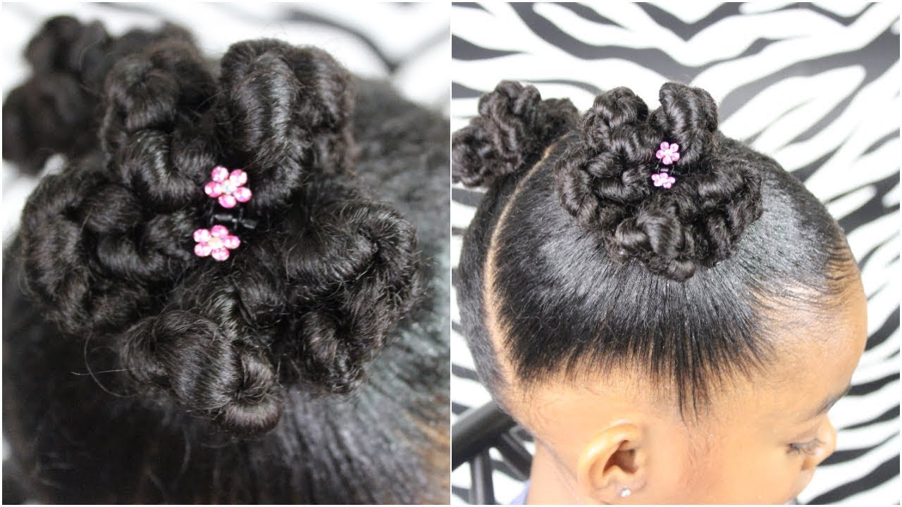Flower Hairstyle | Cute Hairstyle for Girls - YouTube