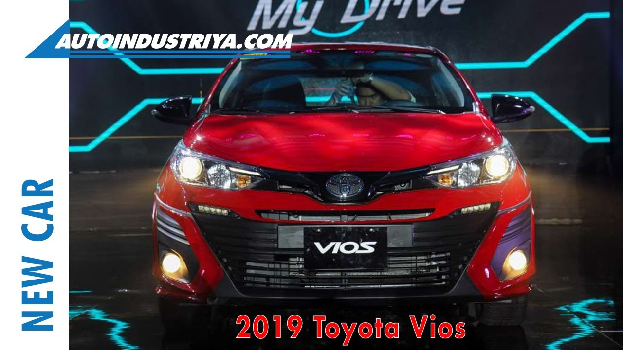 New Car 2019 Toyota Vios Launched In The Philippines