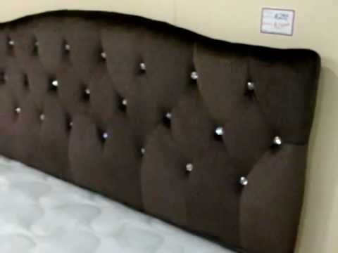 Brown Rhinestone Bed Headboard Gorgeous Youtube