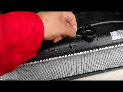 #мыкупилимицубиси. Замена радиатора охлаждения на дизельном Паджеро 4M41