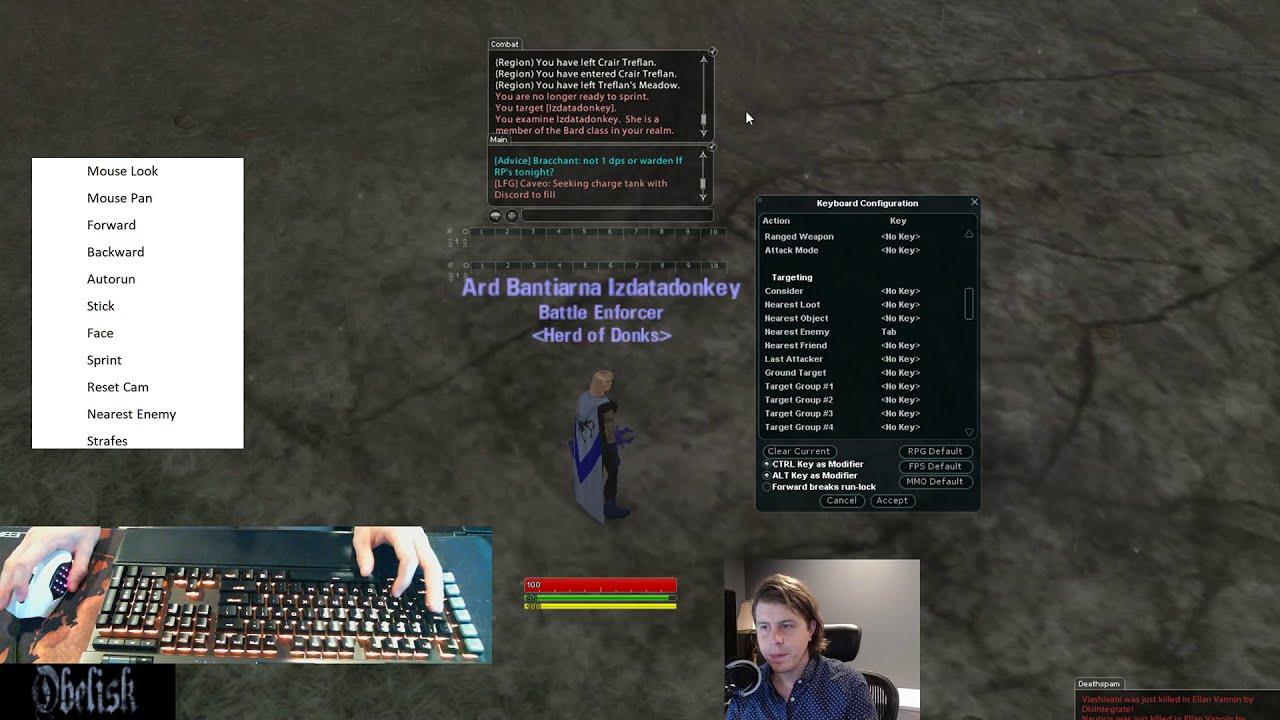 Qbind and Keyboard Setup Overview