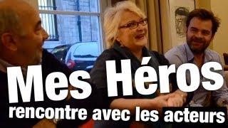 Mes Héros - Gérard Jugnot, Josiane Balasko et Clovis Cornillac - rencontre et bande-annonce