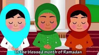 Ramadan Song  Nasheed  No Music  Islamic Song  Islamic Cartoon  Islamic Kids Videos