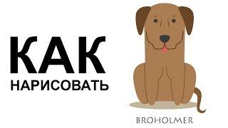 Собаки карандашом. КАК НАРИСОВАТЬ СОБАКУ(Как нарисовать собаку поэтапно карандашом для начинающих за короткий промежуток времени. http://youtu.be/a1db0gsykqg..., 2015-06-25T08:56:54.000Z)