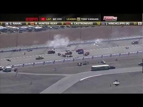 the worst indy car crash ever