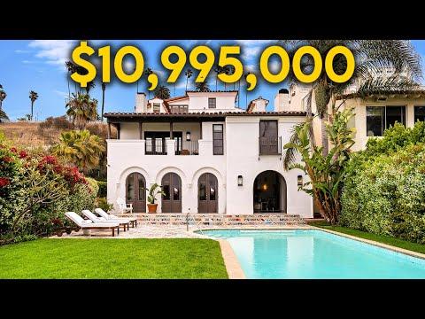 Touring a $10,995,000 Santa Monica Beach House