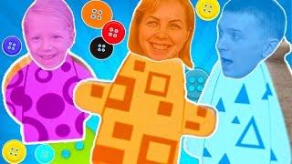 Веселый игровой челлендж ЧУДНЫЕ ЧЕЛОВЕЧКИ смешная игра для всей СЕМЬИ от FAMILY BOX Кто выиграет?