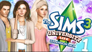 Let's Play: The Sims 3 University Life -(Part 1) Welcome to Campus!