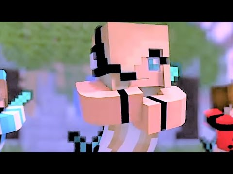 """Minecraft Songs 1 HOUR Version """"Boys Cant Beat Me"""" Psycho Girl 2 - Top Minecraft Songs"""