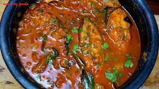 My Cooking My Style-Red Snapper Fish Curry.!!