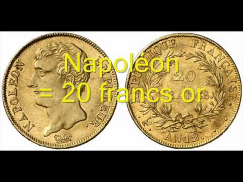 Louis D Or Et Napoleons De 20 Francs Or Youtube