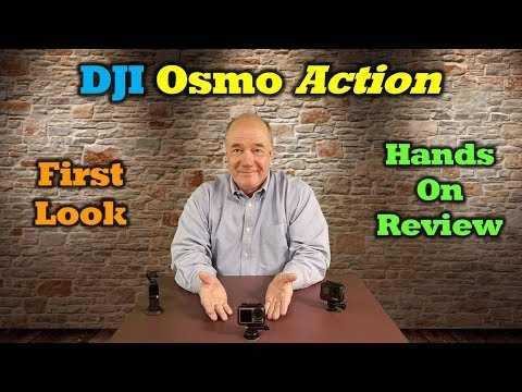 DJI Osmo Action - First Look and Hands-on Review