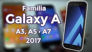 samsung galaxy a3 a5 y a7 2017