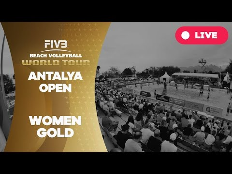 Antalya Open - Women Gold - Beach Volleyball World Tour