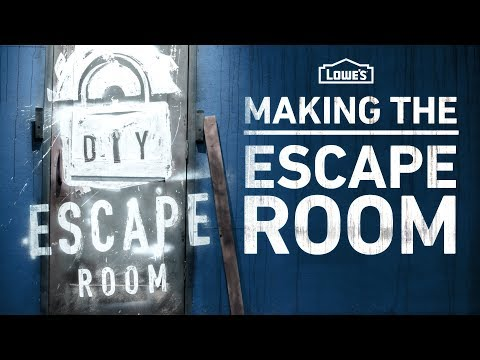 Making the DIY Escape Room: Behind the Scenes