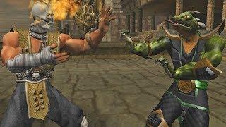 Mortal Kombat Deadly Alliance SCORPION - (VERY HARD) - (GameCube)【TAS】