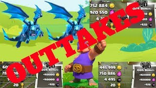"TOWN HALL 12 RUSH RECOVERY EPISODE 17 - THE OUTTAKES!!! - ""CLASH OF CLANS"""