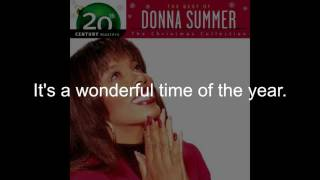Watch Donna Summer Christmas Is Here video