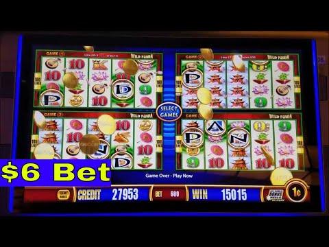Wild Panda Slot Machine Bonuses and Big Win Lines Hit - 동영상